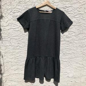 Drop waist ponte knit dress